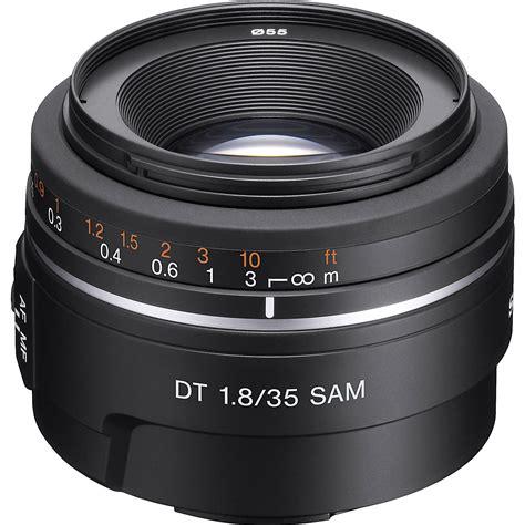 best 35mm lens sony dt 35mm f 1 8 sam lens sal35f18 b h photo