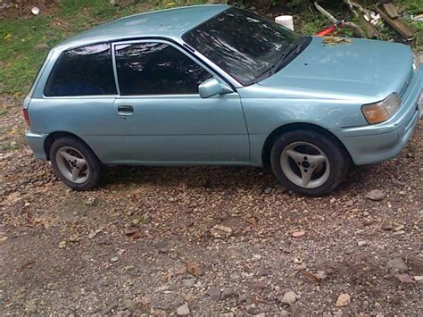 Toyota Starlet For Sale Usa 1995 Toyota Starlet For Sale In Clarendon Jamaica