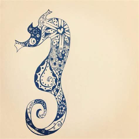 animal house tattoo pearl mississippi paisley seahorse tattoo design tatts pinterest