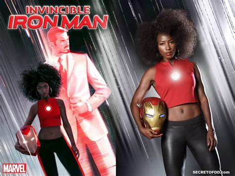 iron man riri williams ironheart cosplay  deddeh