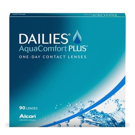 daily aqua comfort plus focus dailies aquacomfort plus 90 pack contact lenses