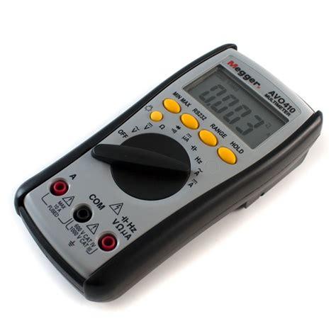 megger avo410 digital multimeter avo 410 multi meter