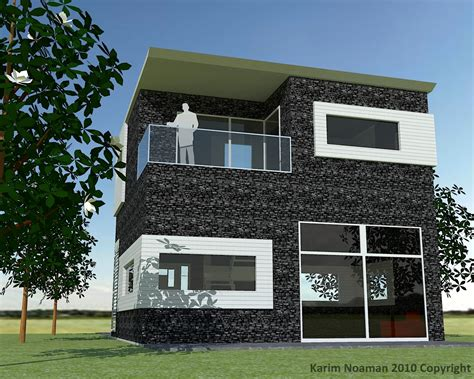 simple house simple modern house design by knoaman on deviantart