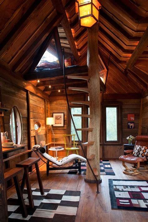 tree house interior treehouse interior treehouses pinterest