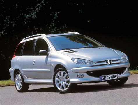peugeot 206 sw peugeot 206 car technical data car specifications