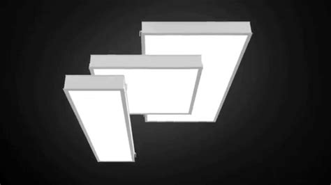 RAB LPANEL   LED Ceiling Panel Lights   YouTube