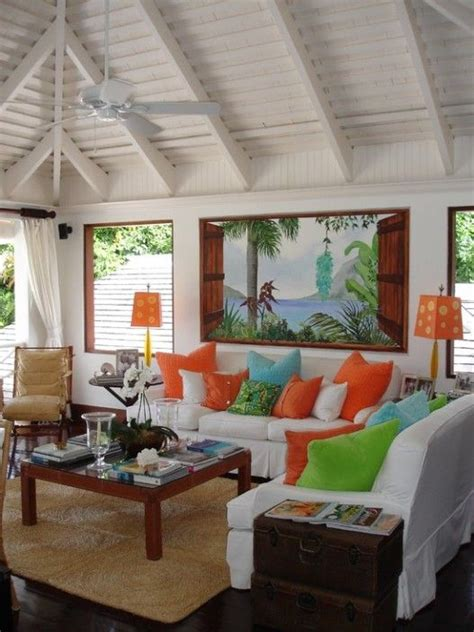 tropical house interiors homes and beachy