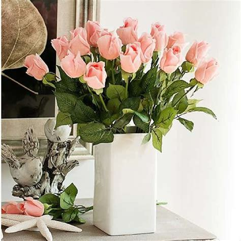 floreros y flores artificiales decoraci 243 n de flores artificiales decorate your home