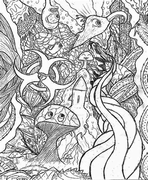 trippy in coloring pages trippy coloring sheets images