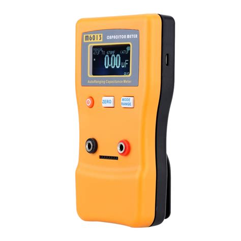 capacitor test digital meter m6013 v2 digital auto ranging capacitance meter tester capacitor tester 0 01pf to 470000uf