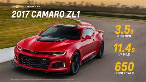 2012 chevrolet camaro horsepower 2017 chevy camaro zl1 performance specs gm authority