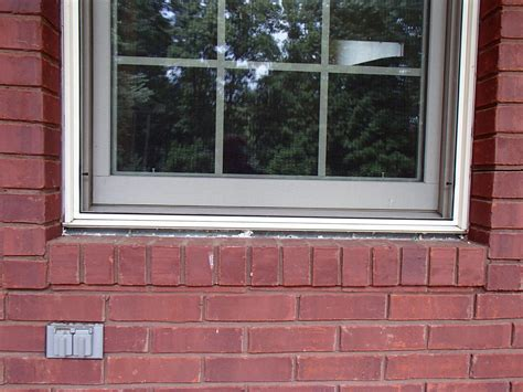 Masonry Window Sill Redeemers Concrete Lifting And Leveling Before And