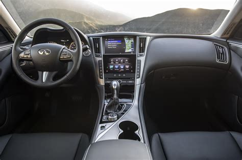 infiniti q50 interior infiniti brings two signature edition models to the 2017