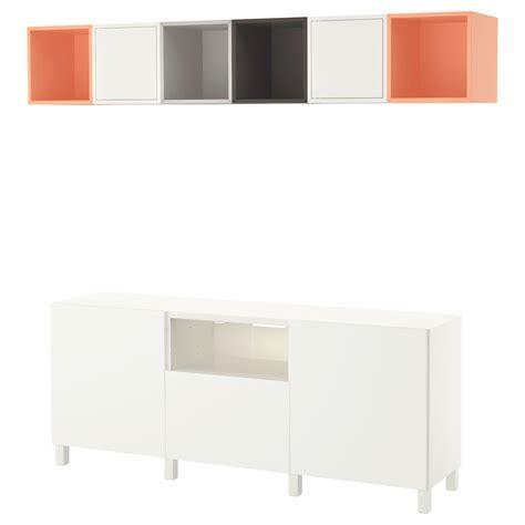Besta Eket by Eket Best 197 Cabinet Combination For Tv White Grey