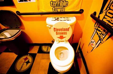 steelers bathroom stuff steelers bathroom the way it should be but bengals