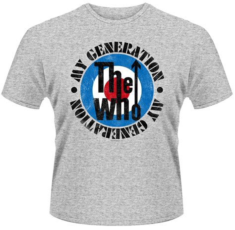 Tshirt Generation the who generation t shirt s t shirts t