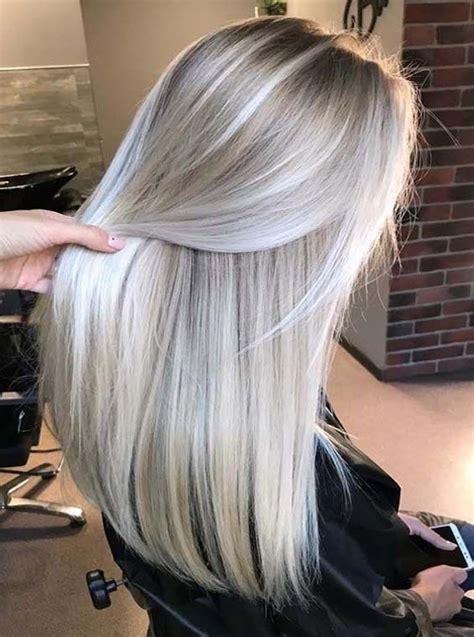 platinum pearl blonde hair colors  long hair hair