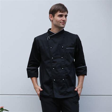 manset unisex chef clothing free shipping restaurant hotel best