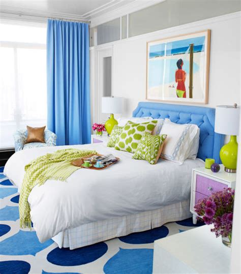 blue and lime green bedroom cozy bedroom with lime green and blue accents