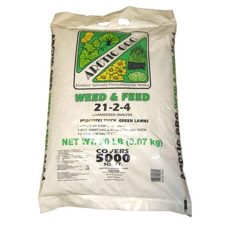 20 lb ready to use and feed fertilizer 50401095