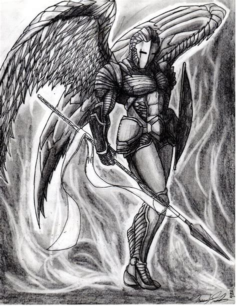 archangel sandalphon by the infamous mrgates on deviantart