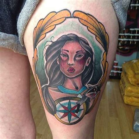pocahontas tattoos pocahontas tattoos designs ideas and meaning tattoos