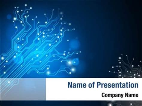 electric circuit powerpoint electric circuit board powerpoint templates electric