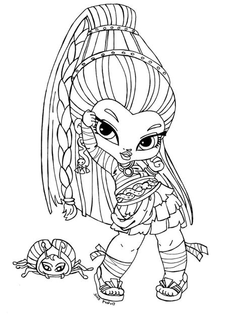 monster high names coloring pages pin by dellana ward on amyahs monster high pinterest