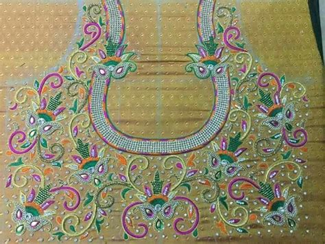 avs pattern works coimbatore 1000 images about heavy maggam work blouses on pinterest