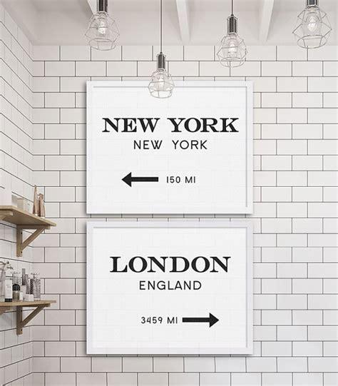 new york bathroom decor new york city print london art industrial wall decor gossip