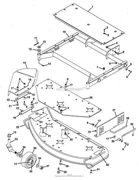 300 parts diagram gravely 46317 mower 50 quot promaster 300 parts diagram for