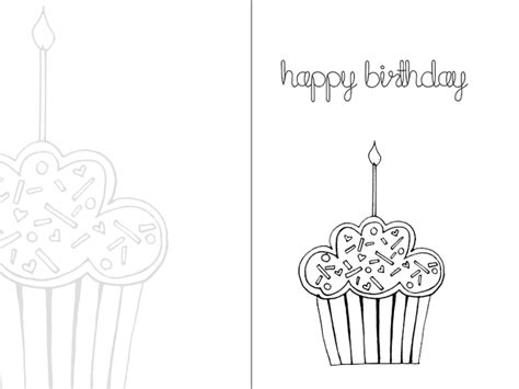 day 5 printable happy birthday colouring card tarjeta de cumplea 241 os para colorear conchi