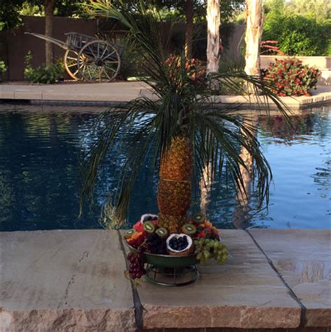 pineapple fruit tree stand 2014 may 08 les petites gourmettes