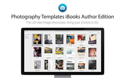 templates for ibooks author photography templates ibooks author edition 1 0 purchase