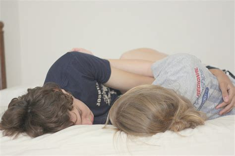 cute couples in bed bed couple cute field flower forever image 30642