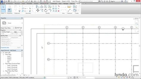 revit tutorial project browser adding sheets to a sheet list