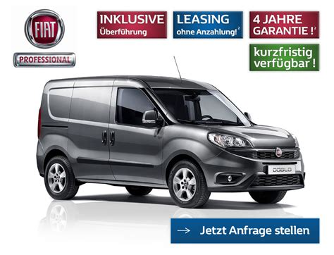 Fiat Leasing Ohne Anzahlung by Transporter Leasing Finanzierung Fiat Professional