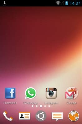ubuntu themes for android phones ubuntu android theme for apex launcher androidlooks com