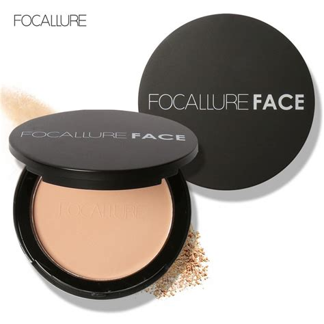 Focallure Blush On Powder 1 focallure 3 colors make up powder bronzer highlighter shimmer brighten pressed powder