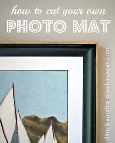 How To Cut Mats For Framing by 1000 Images About Matting And Framing On