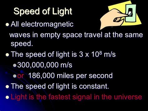 nature of light waves unit ppt