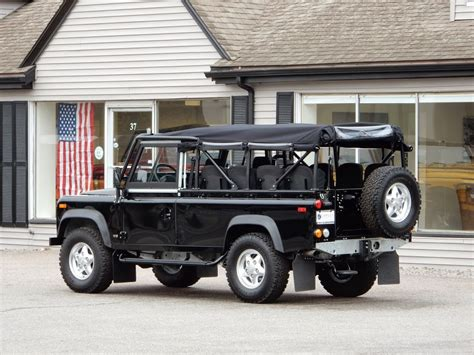 land rover defender 110 convertible 1997 land rover defender 110 convertible copley motorcars