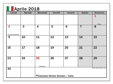 Calendario 2018 Aprile Calendario 2018 Aprile 28 Images Calendario Aprile