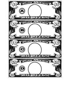 money template for school money and templates on
