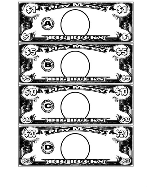 classroom money template best photos of for classroom money template make your
