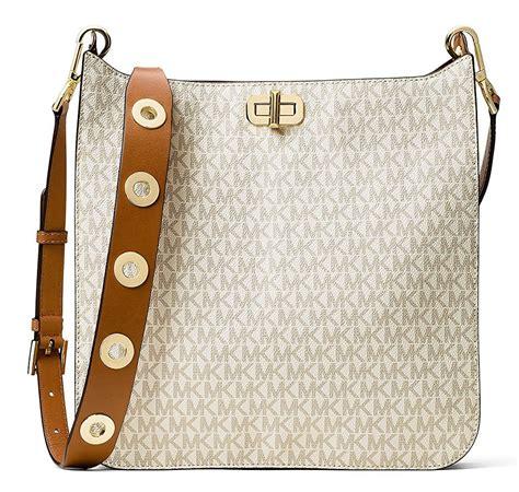 Michael Kors Messenger Sign Vanilla michael kors sullivan large logo messenger bag vanilla ebay