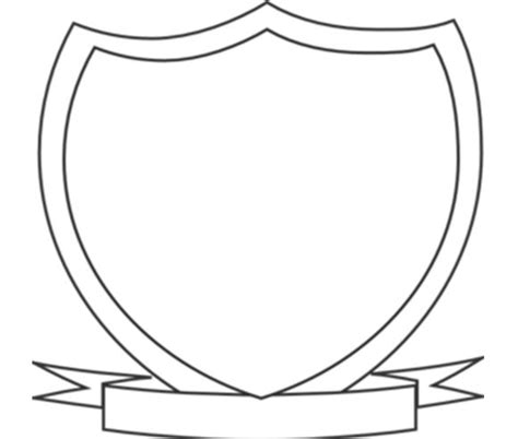 crest template cliparts co