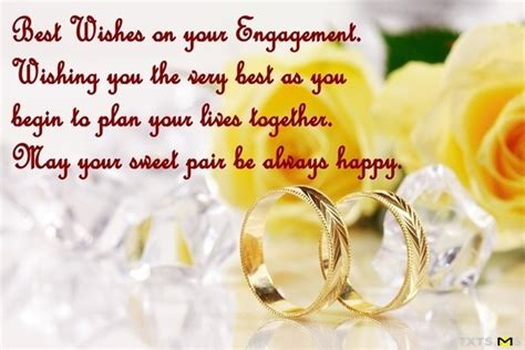 Wedding Engagement Congratulations Message by Congratulations Wishes For Engagement Quotes Messages