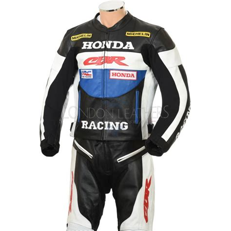 motorcycle racing leathers honda cbr racing biker leathers 4 colours