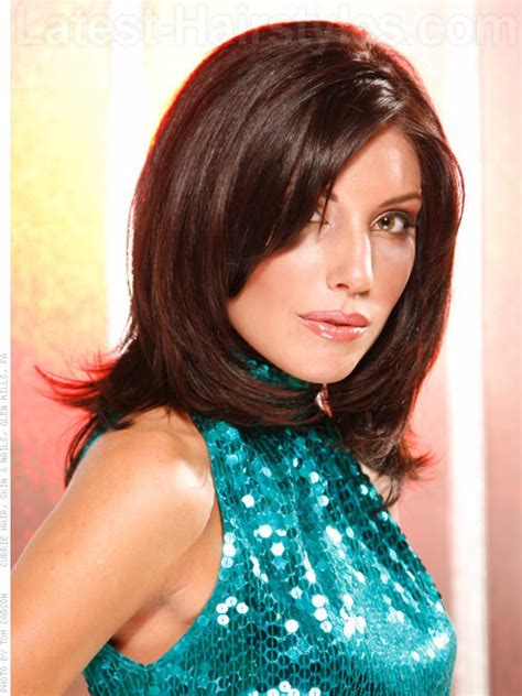 brunette hairstyles for heart shaped faces best face framing hairstyles other hairstyles